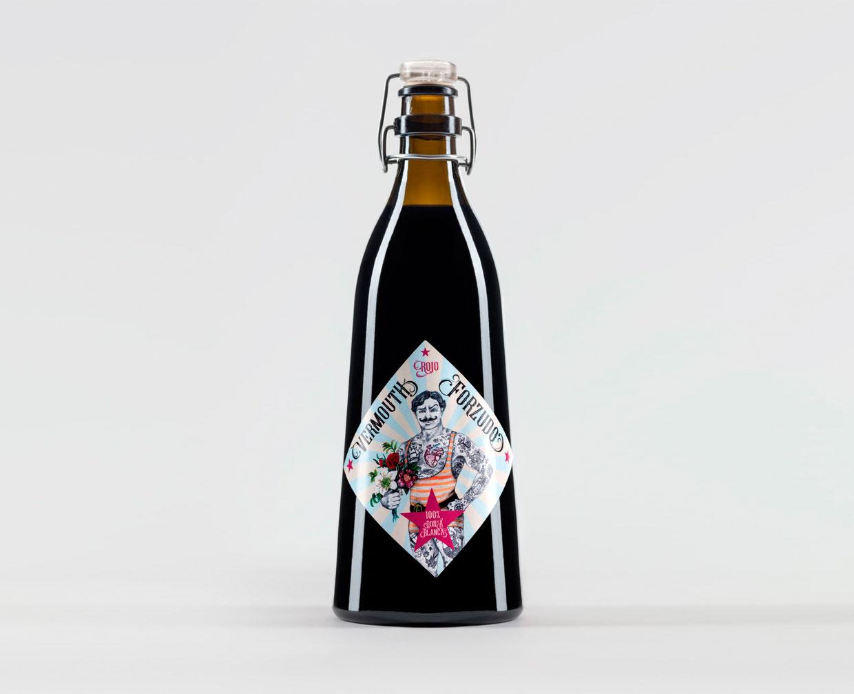 Botella Vermouth Forzudo