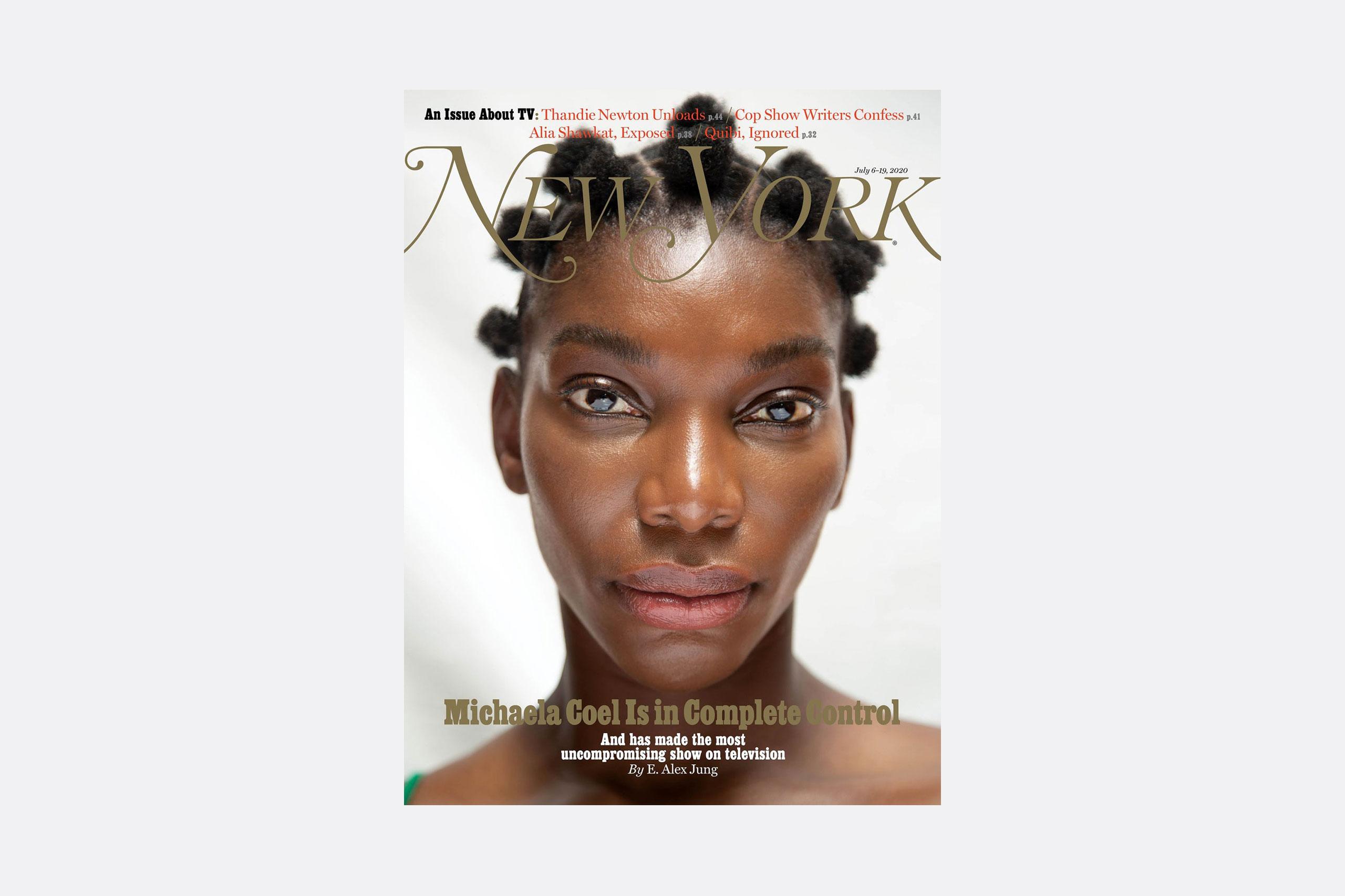 Portada de New York Magazine