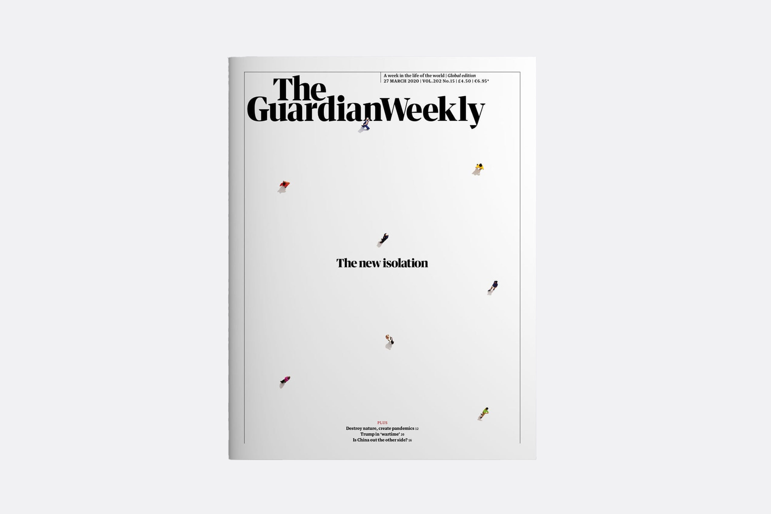 Portada de The Guardian Weekly