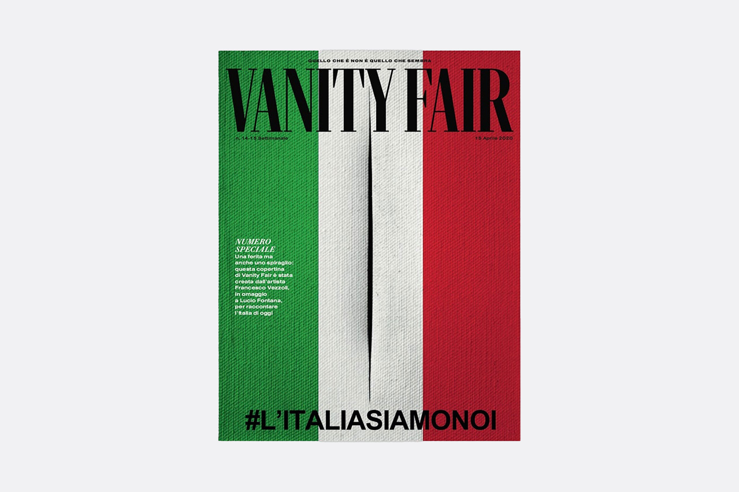 Portada Vanity Fair Italia