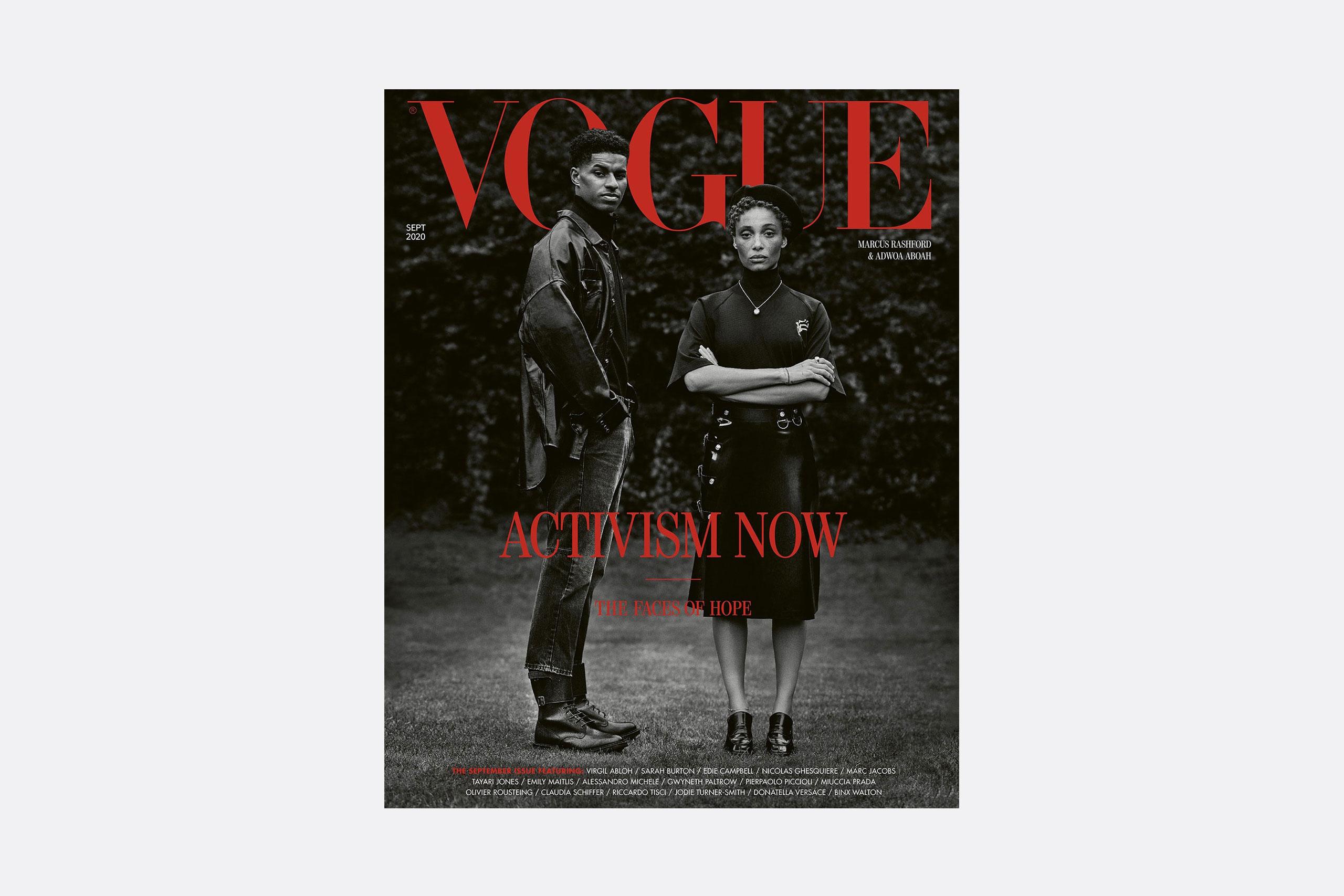 Portada de Vogue Inglaterra de Misan Harriman